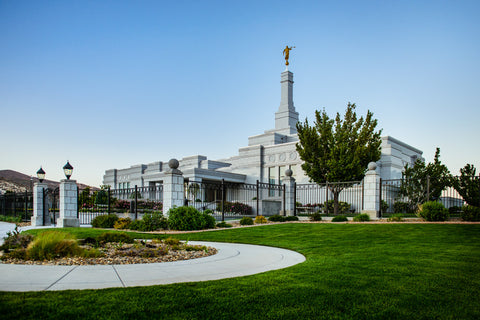 Reno Temple - Right Corner by Scott Jarvie