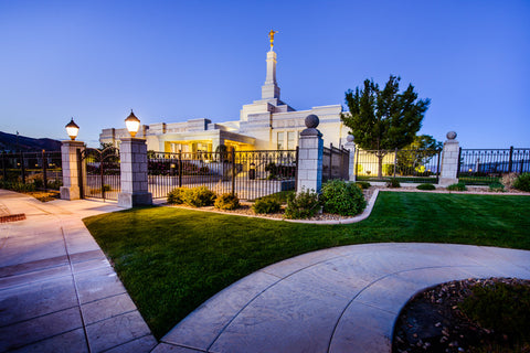 Reno Temple - Paths Converged by Scott Jarvie