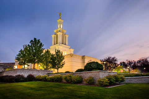 Columbia River Temple - Twilight by Scott Jarvie