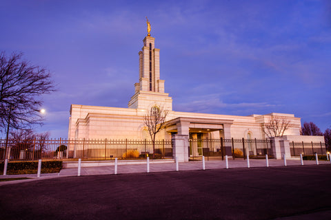 Lubbock Temple - Early Morning by Scott Jarvie