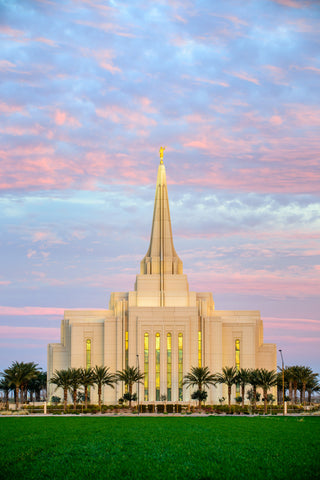 Gilbert Temple - Illuminated by Scott Jarvie