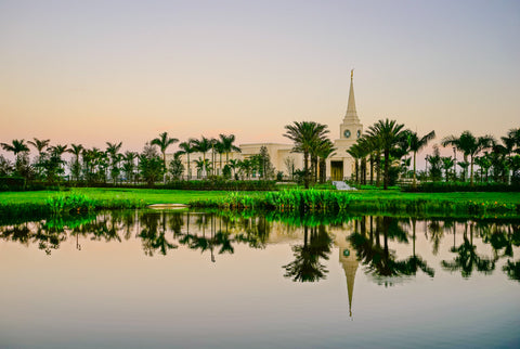 Fort Lauderdale Temple - Mirrored by Scott Jarvie