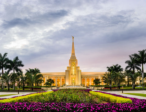 Fort Lauderdale Temple - Temple -Entrance by Scott Jarvie