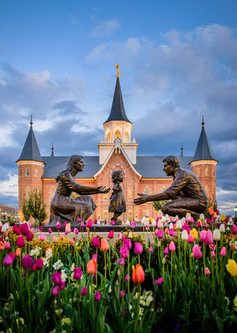 Provo City Center Temple - Family Time by Scott Jarvie