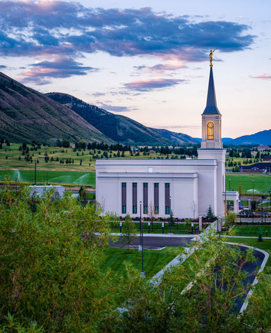 Star Valley Temple - Southern Valley by Scott Jarvie