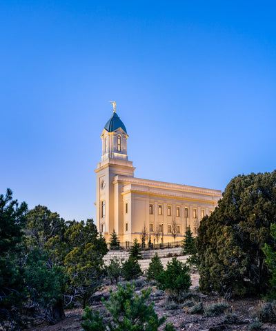 Cedar City Temple - Above the Cedars by Scott Jarvie