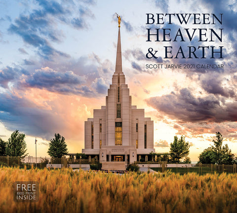 2021 Scott Jarvie Calendar - Between Heaven & Earth