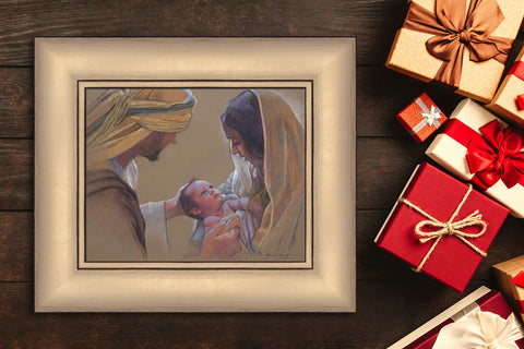Nativity Accent Frames