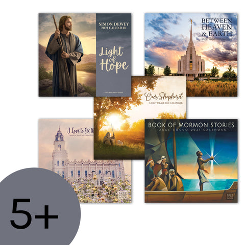 BUY 5 OR MORE 2021 WALL CALENDARS AND SAVE 35%