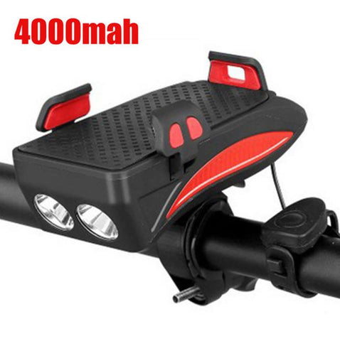 Universal Charger Multi-Bike Mount Cycle Lights