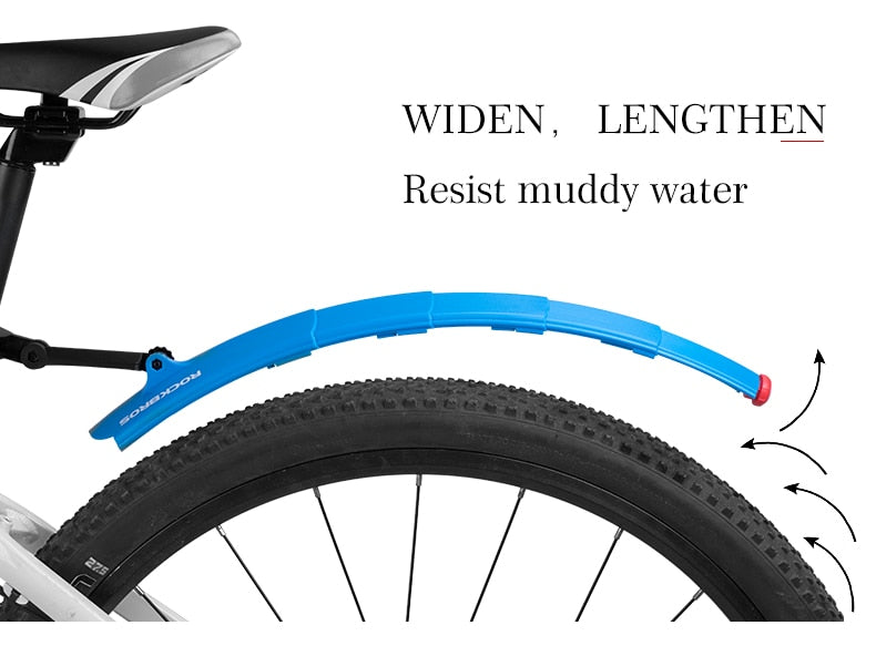 Bicycle Mudguard and Light