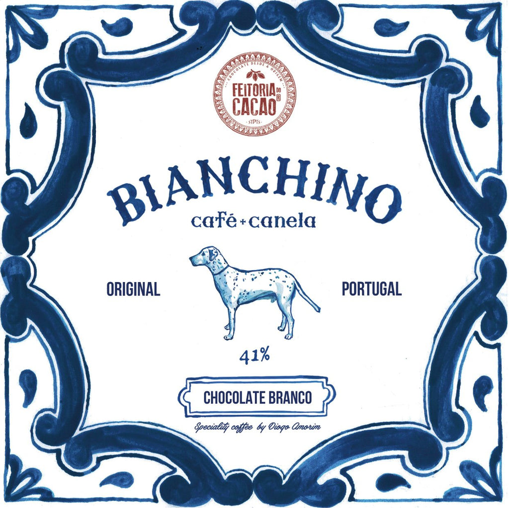 Chocolate Branco Bianchino 41% + Café e Canela