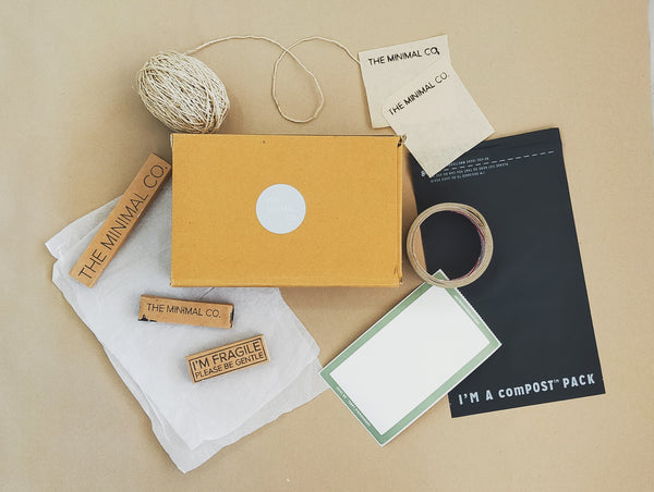 Sustainable packaging - The Minimal Co.