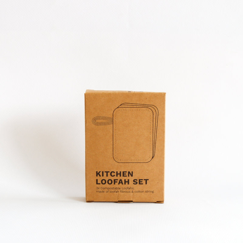 Kitchen Loofah Set