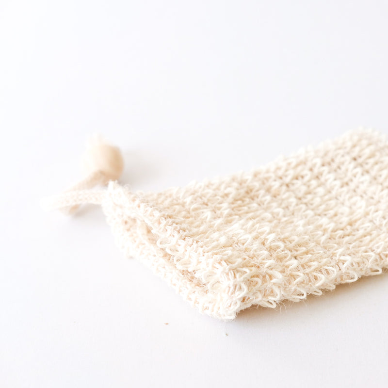 AGAVE WOVEN SOAP BAG - EXFOLIATING SCRUBBER
