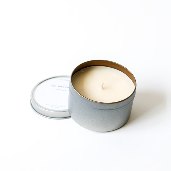 Soy Wax Candle in Aluminium Tin
