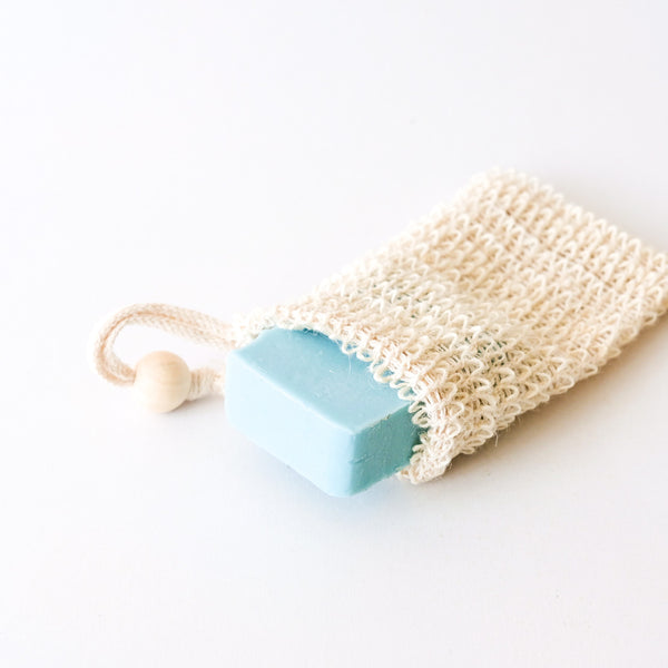 AGAVE WOVEN SOAP BAG EXFOLIATING SCRUBBER