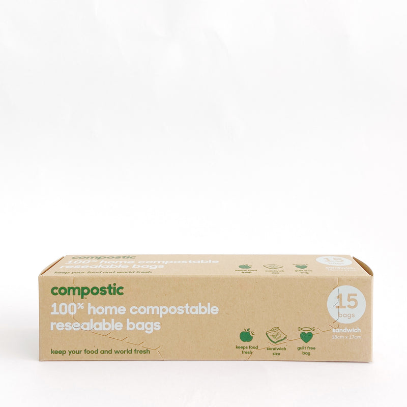 Compostic Resealable Bags