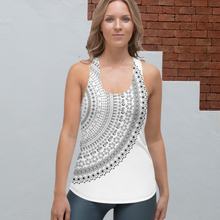 Load image into Gallery viewer, Half Mandala Women's Racerback Tank