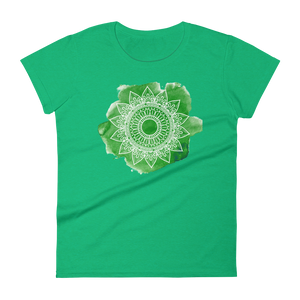 Green Chakra Mandala Women's short sleeve t-shirt