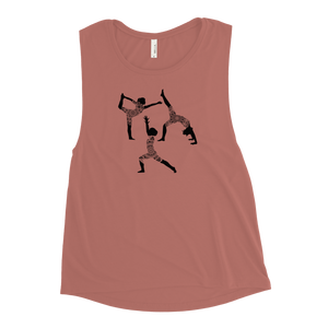 Yoga Mandala Ladies' Muscle Tank