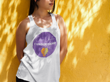 Load image into Gallery viewer, The Purple Color Chakra Ladies' Muscle Tank
