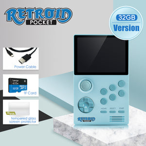 Retroid Pocket - Handheld Retro Gaming Open Android System (no roms included)