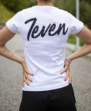 CAMISETA W 7EVEN BASICS WHITE