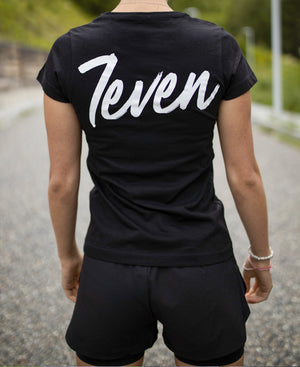 CAMISETA W 7EVEN BASICS BLACK