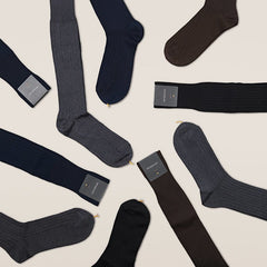 Gustav - Knee-high Merino Socks 5-pack