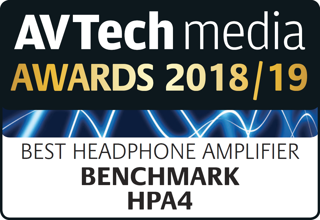 "HPA4 - ""Best Headphone Amplifier"" - AV Tech Media Awards 2018/2019"