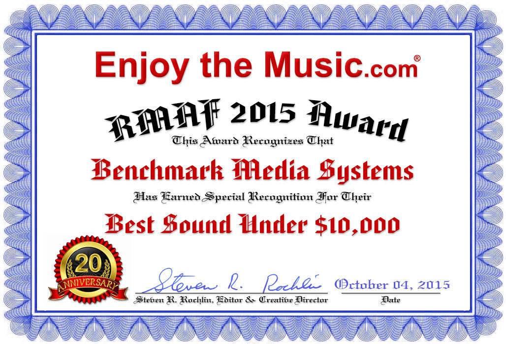 HRA Music System - Best Sound Under $10,000 - RMAF 2015, Enjoy the Music.com