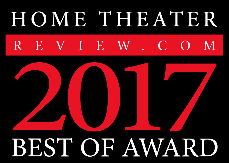 AHB2 Award - Home Theater Review - Best of 2017