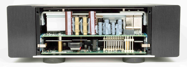Benchmark AHB2 Power Amplifier with Front Plate Removed