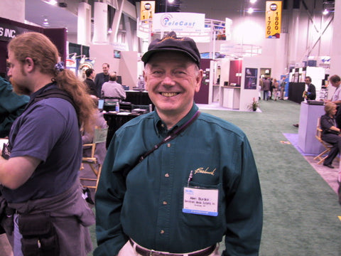 Allen H. Burdick at NAB 2001