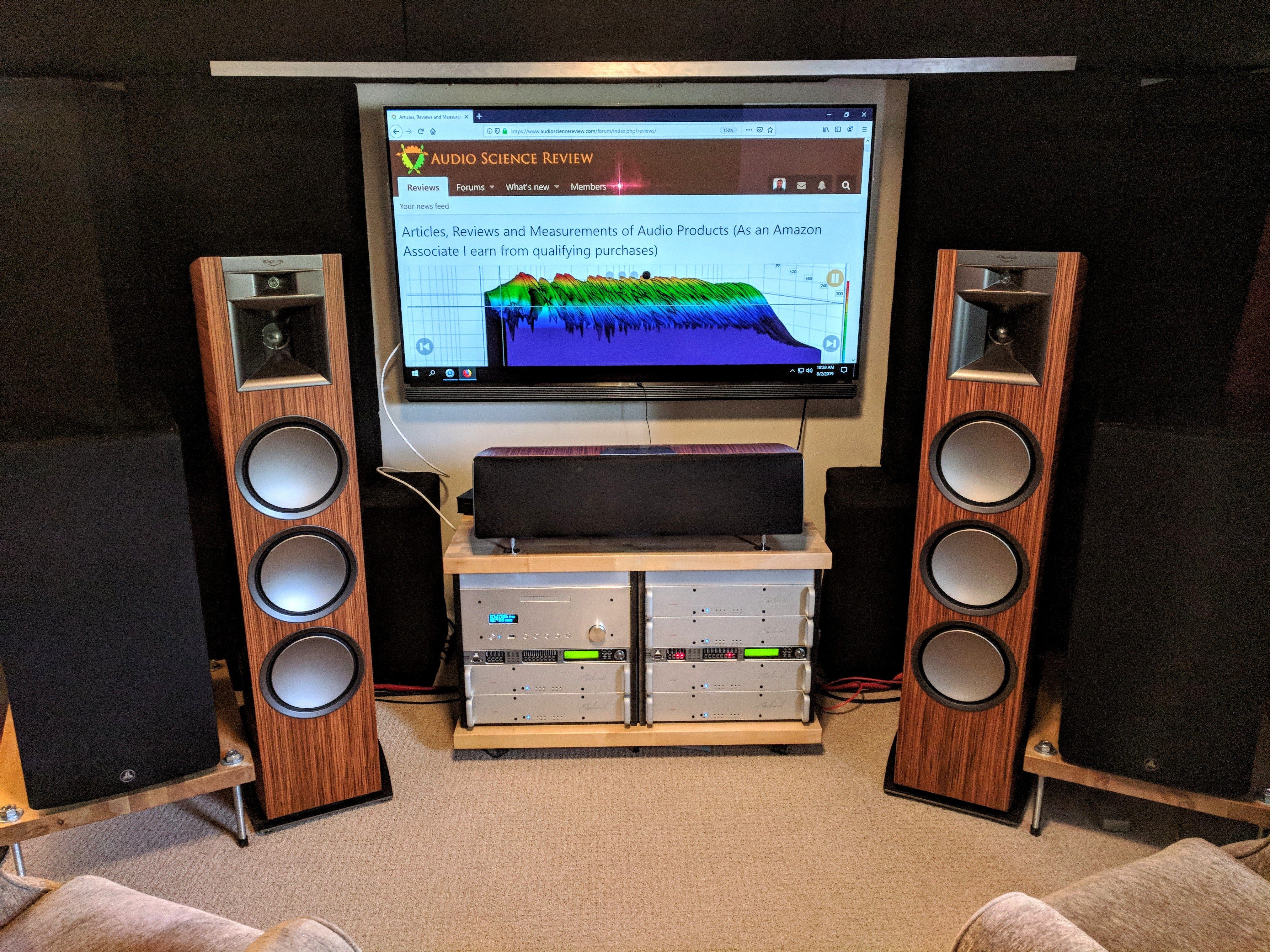 Updated Home Theater System - 2020