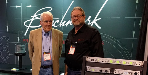 Laurie Fincham and Rory Rall at NAMM 2016