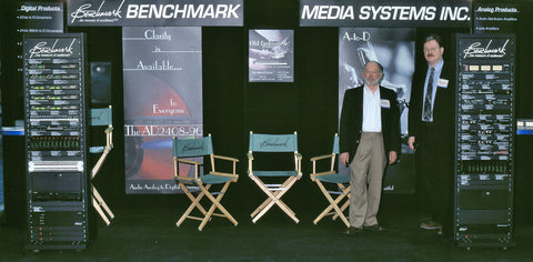 Allen H. Burdick and Rary Rall at NAB 2000