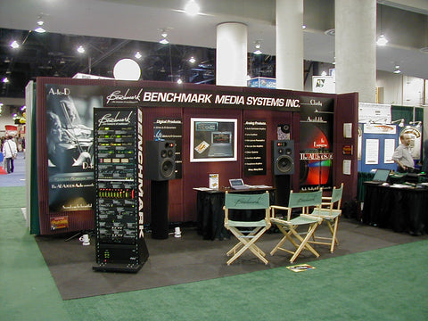 Benchmark Booth at NAB 2001