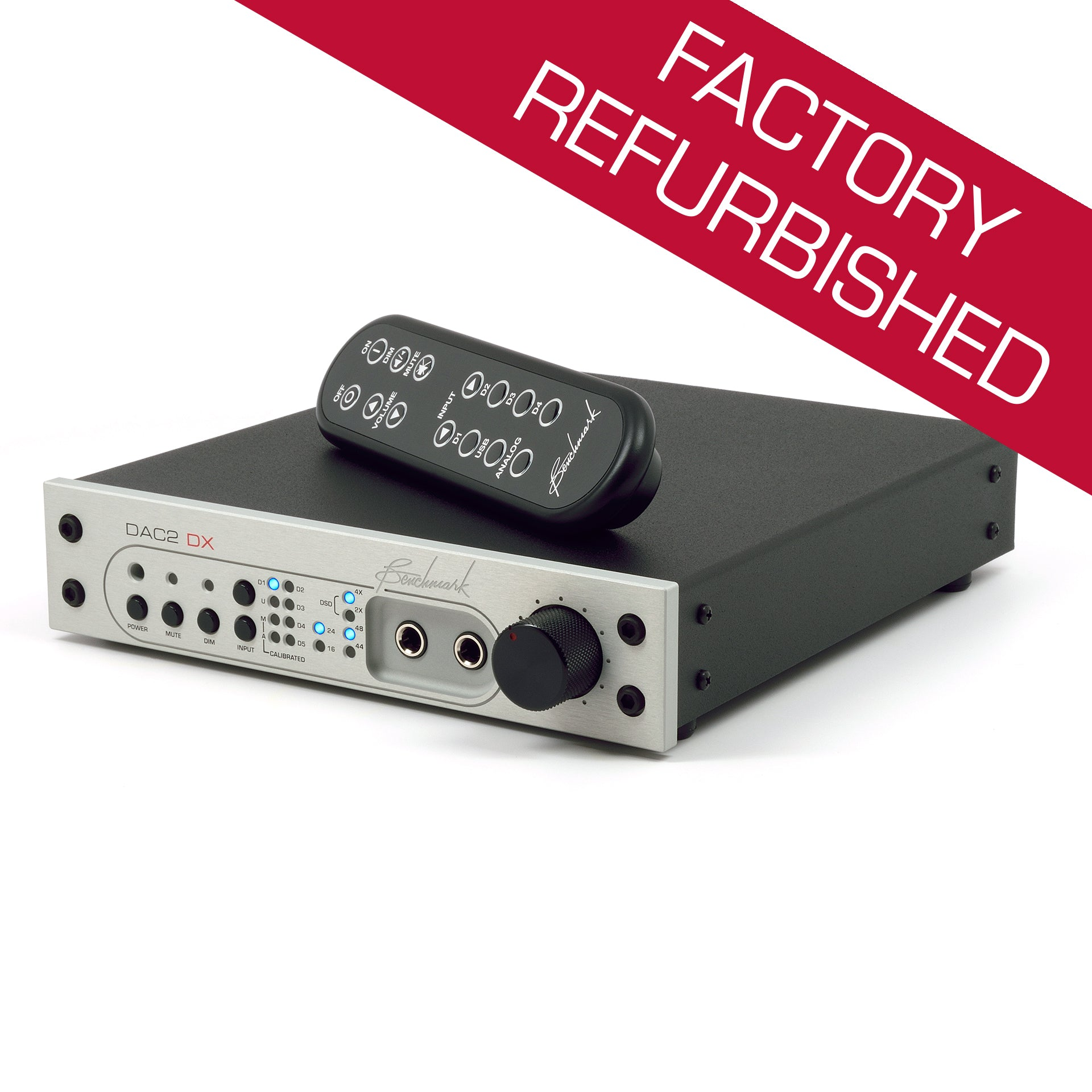 Benchmark DAC2 DX - Digital to Analog Audio Converter - Factory Refurbished