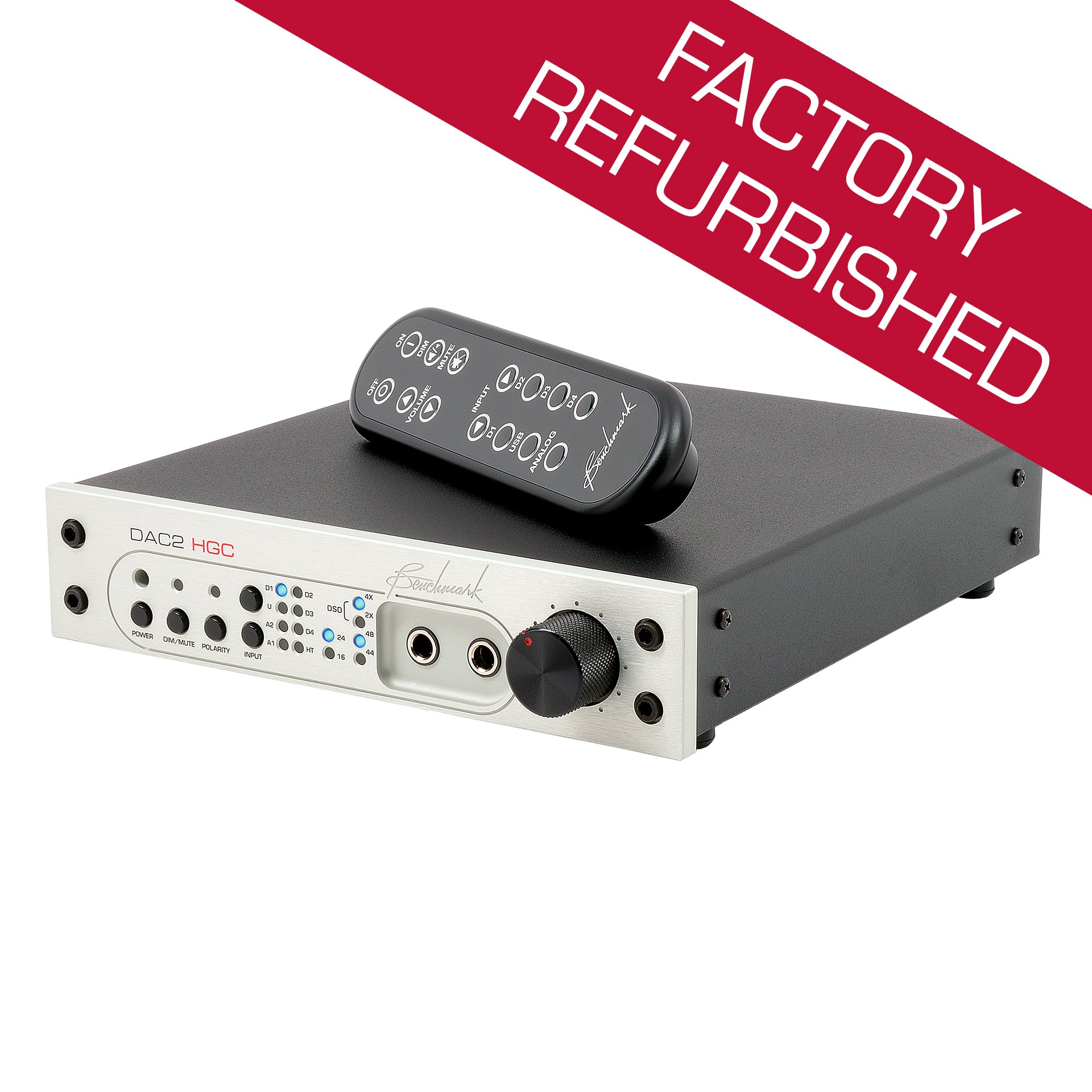 Benchmark DAC2 HGC - Digital to Analog Audio Converter - Factory Refurbished