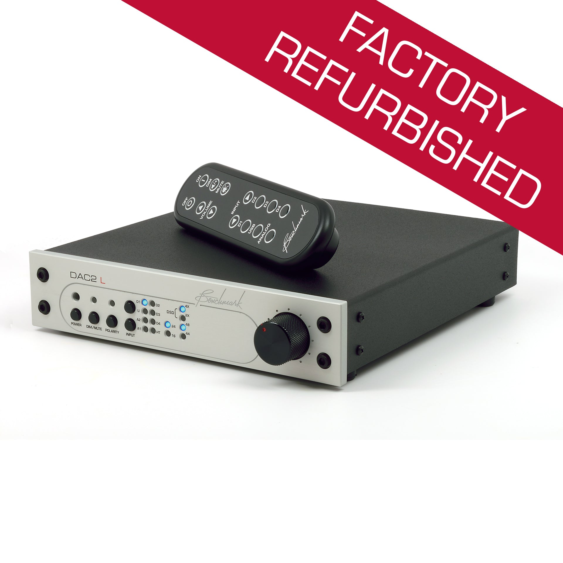 Benchmark DAC2 L - Digital to Analog Audio Converter - Factory Refurbished