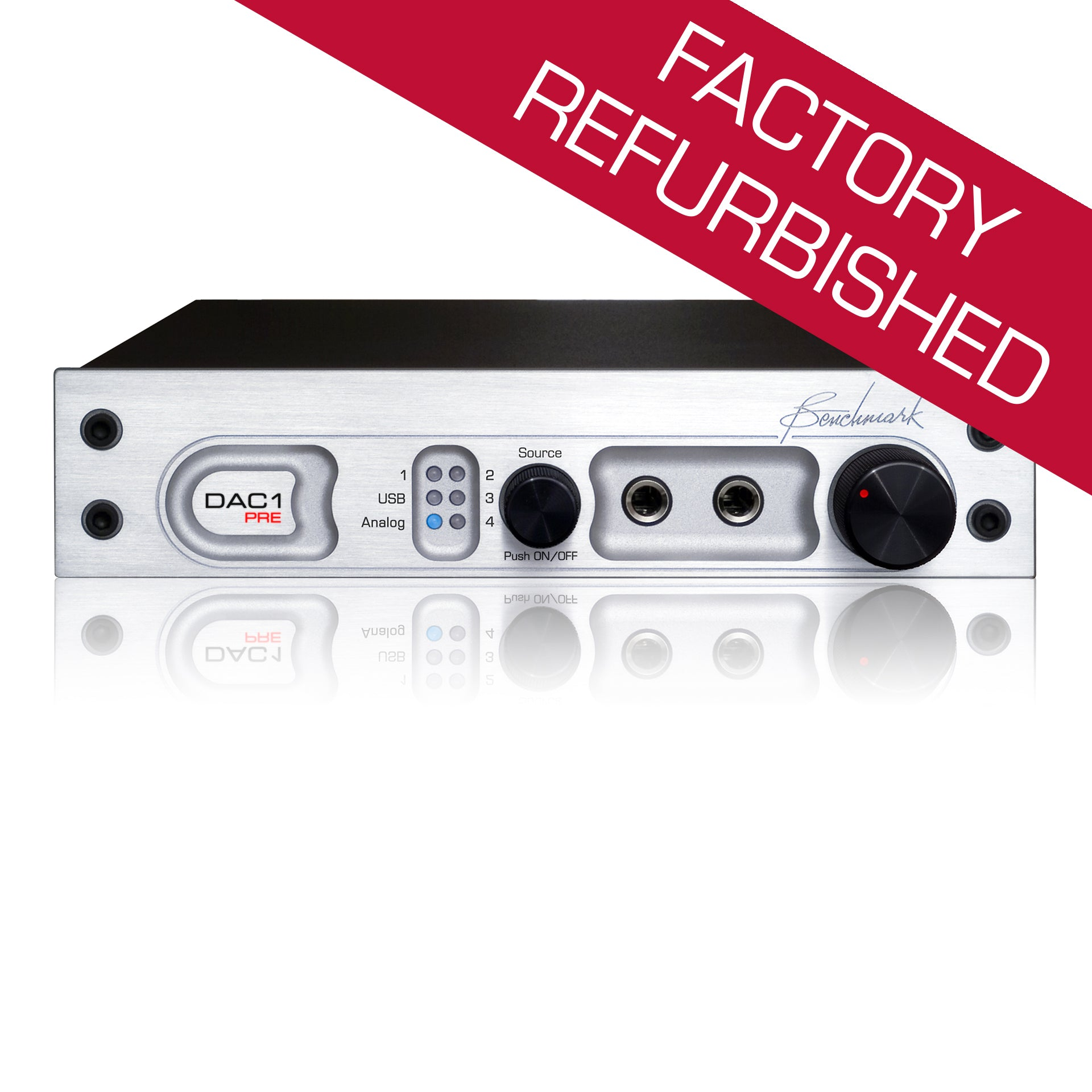 Benchmark DAC1 PRE - Digital to Analog Converter - Factory Refurbished