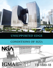 IGMA/NGA Unsupported Edge Conditions of Insulating Glass Units