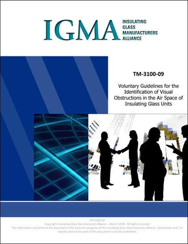 Voluntary Guidelines for the Identification of Visual Obstructions in the Airspace of Insulating Glass Units