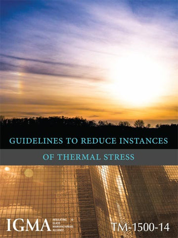 Guidelines to Reduce Instances of Thermal Stress