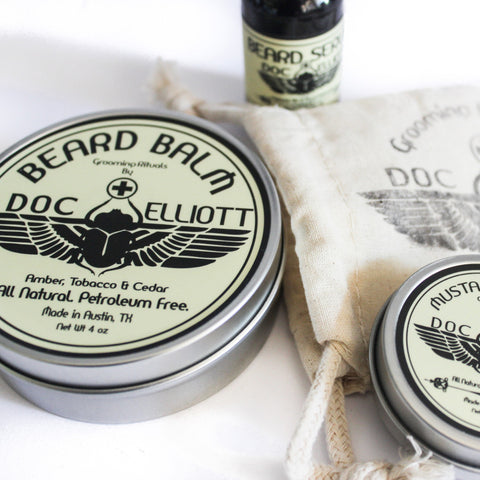 Classic Beard Oil Raw Label