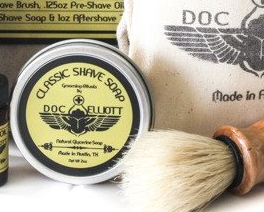 Travel Shave Soap - Doc Elliott Grooming - 1