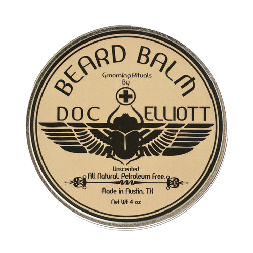 Classic Beard Balm Raw Label