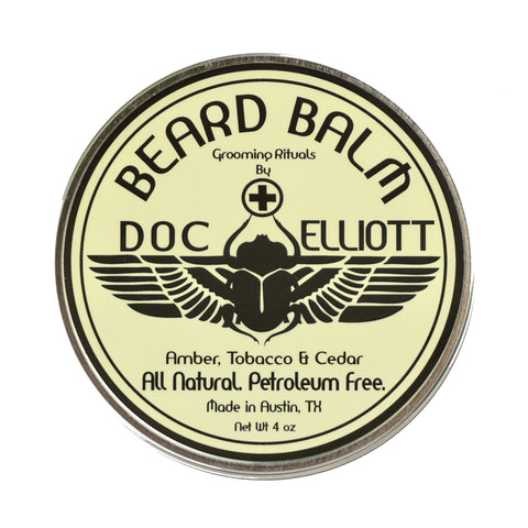 Beard Care Combo Raw Label